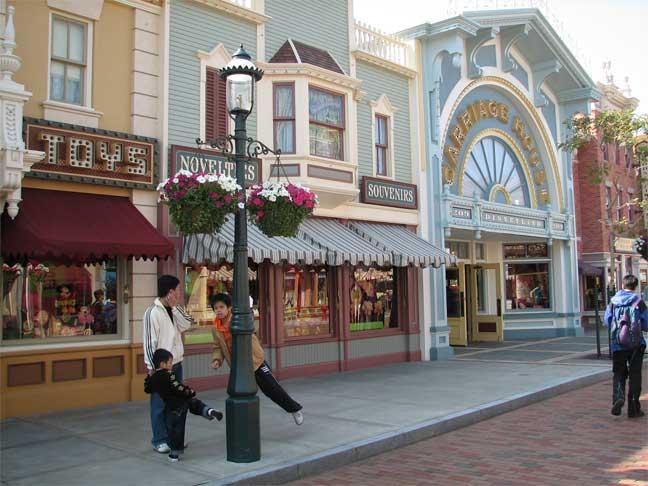 步行街 街道 街景 商业街 648_486图片