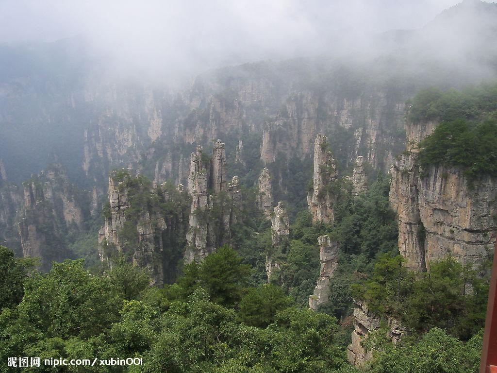 韶山风景区高清照片